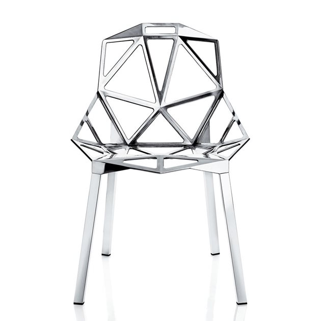 Aluminium chair