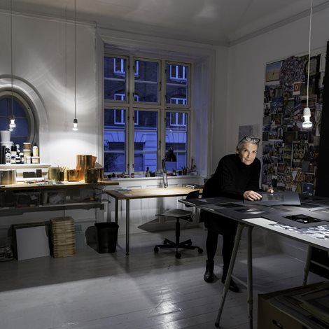 Bess Kristoffersen in her studio ©Alastair Philip Wiper